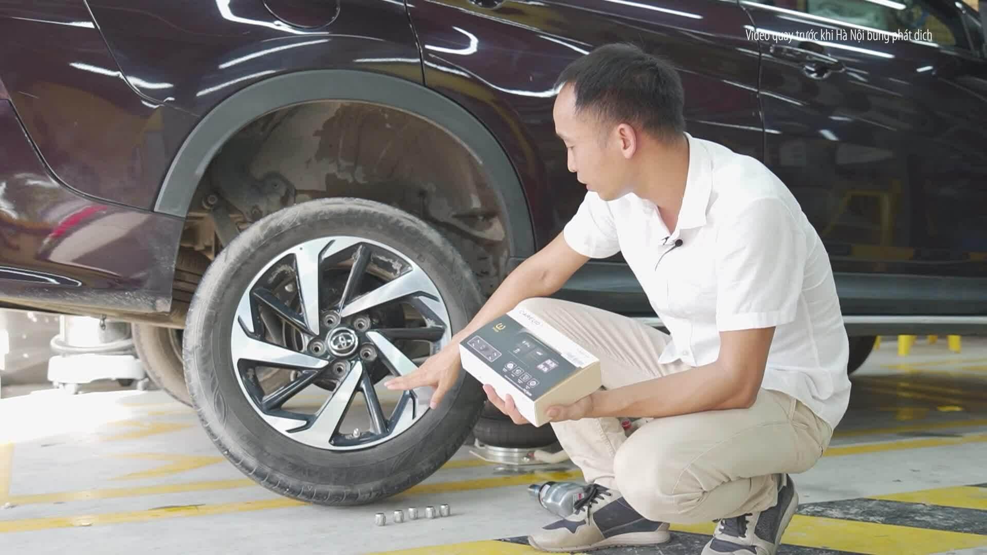 Cảm biến áp suất lốp - trang bị nên có dành cho xe