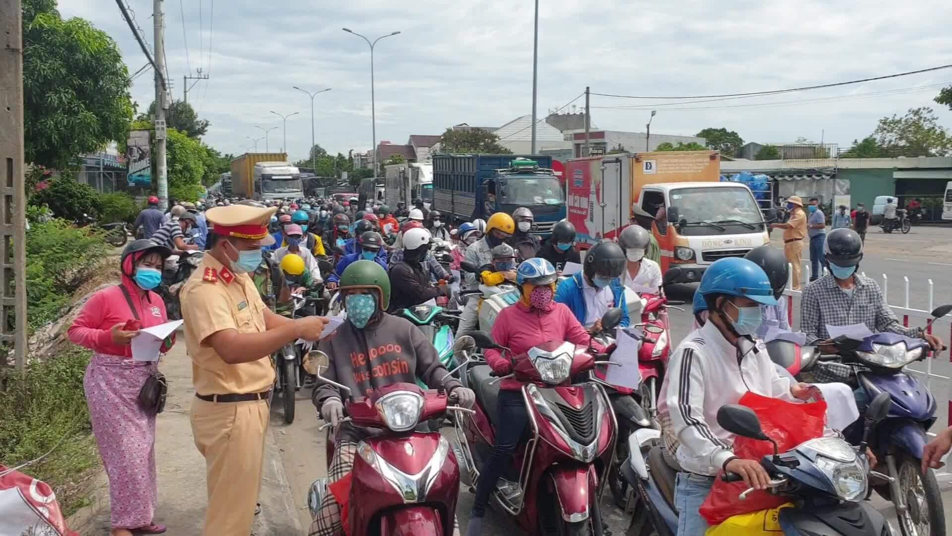 Quảng Nam không cho người từ Đà Nẵng vào