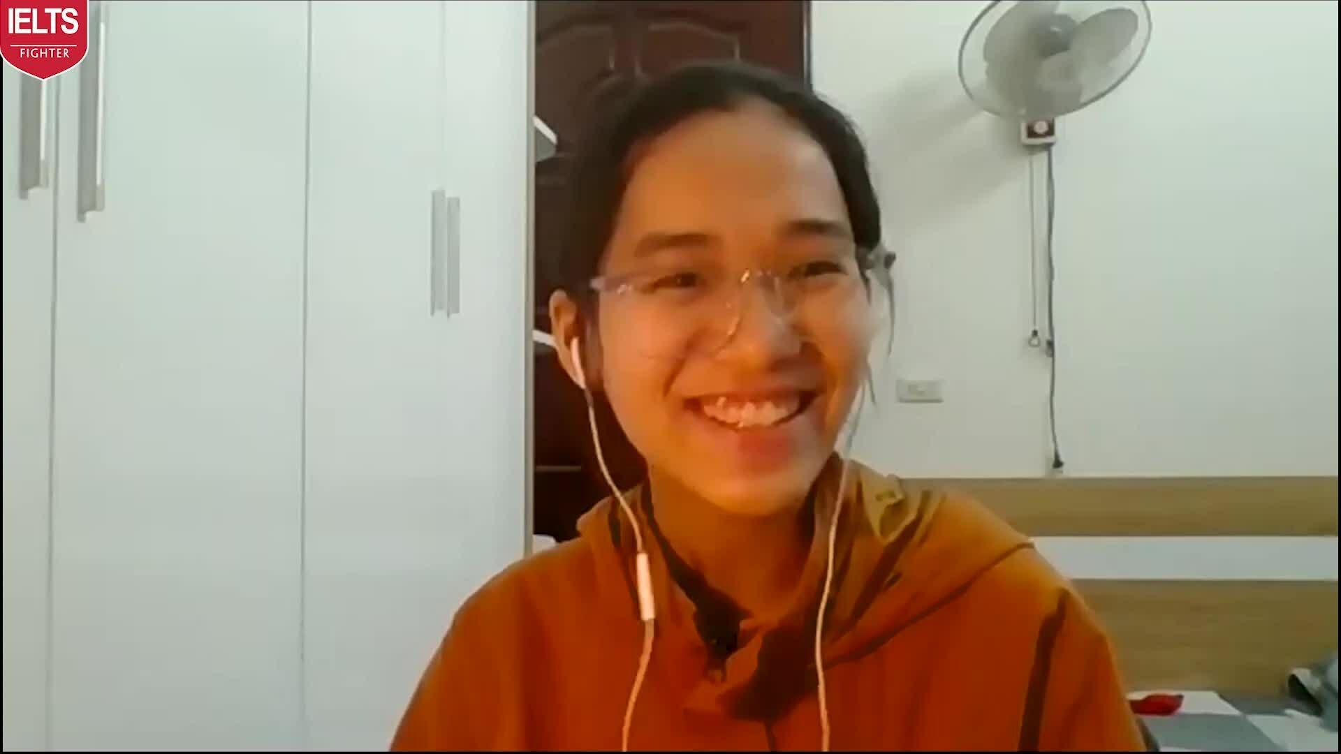 Nữ sinh Thái Bình chia sẻ cách học online đạt 7.5 IELTS