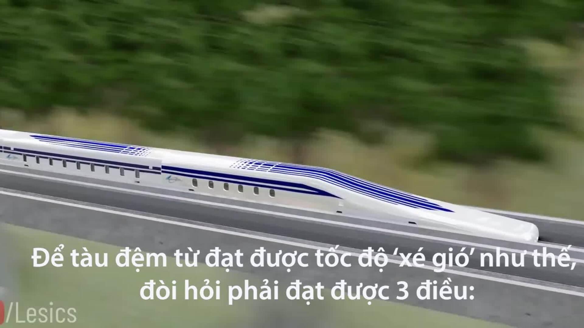 Tàu đệm từ nhanh nhất thế giới chế tạo thế nào?