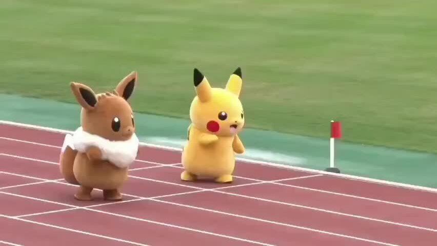 Cuộc thi chạy đua của những Pokémon
