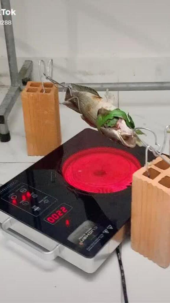 Hướng dẫn nướng cá không cần than