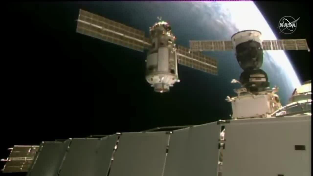 Module lớn nhất của Nga cập bến ISS