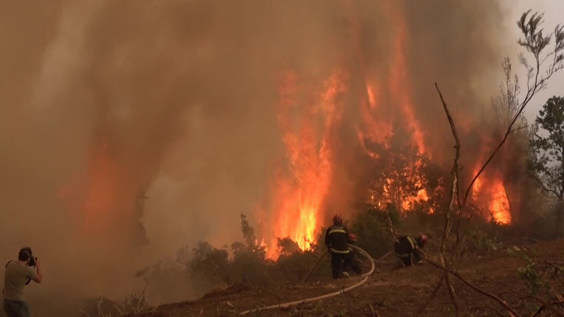 Cháy rừng Hy Lạp là thực tế nghiệt ngã của biến đổi khí hậu