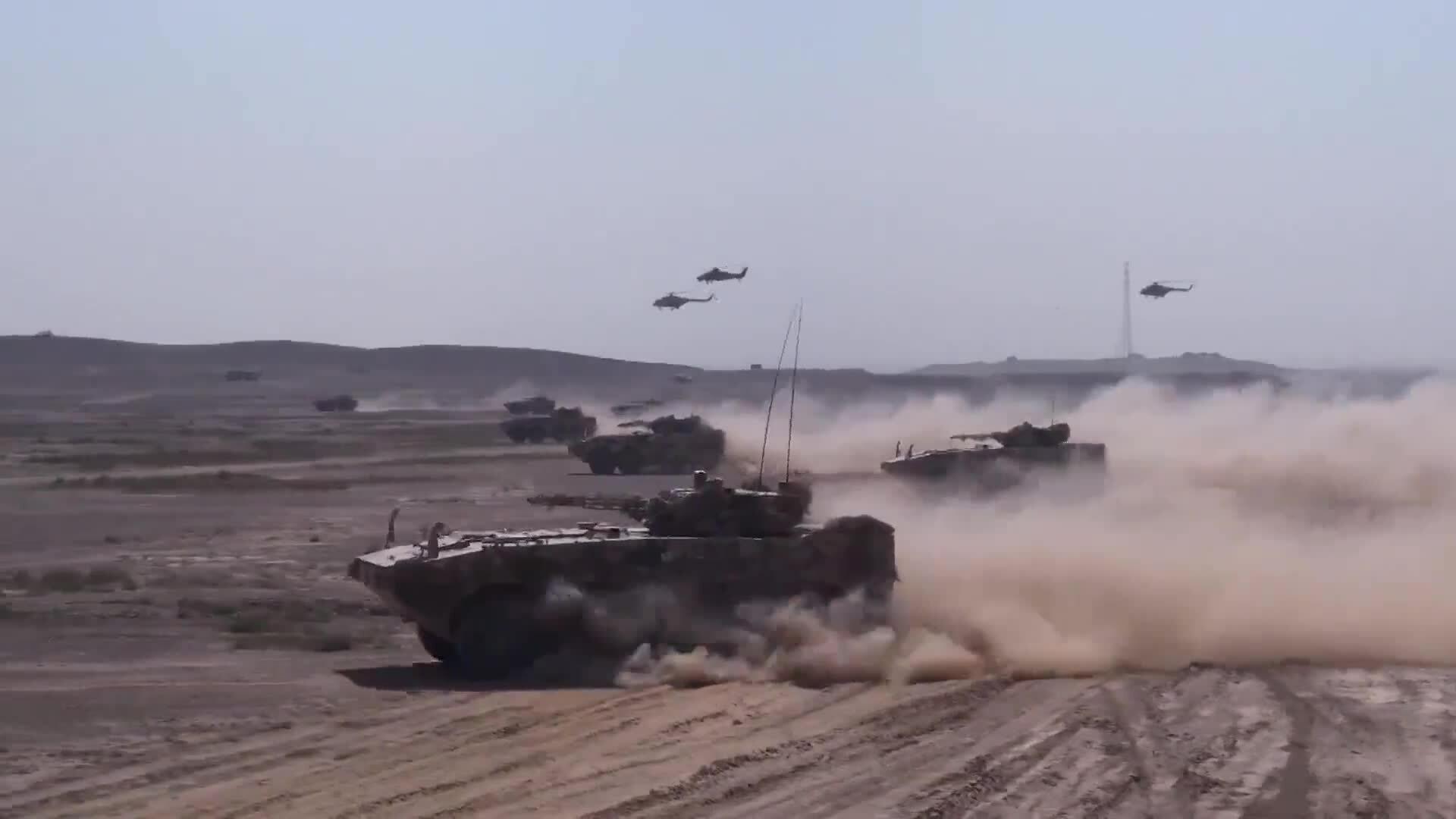 Hơn 10.000 lính Nga - Trung diễn tập