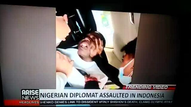 Quan chức ngoại giao Nigeria bị hành hung ở Indonesia
