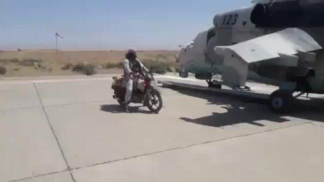 Taliban đoạt trực thăng tấn công Ấn Độ tặng Afghanistan