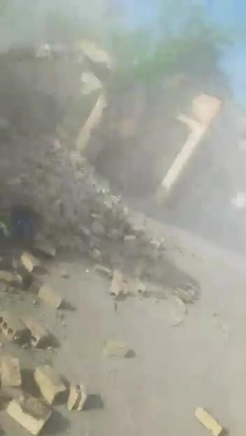Hiện trường động đất ở Haiti