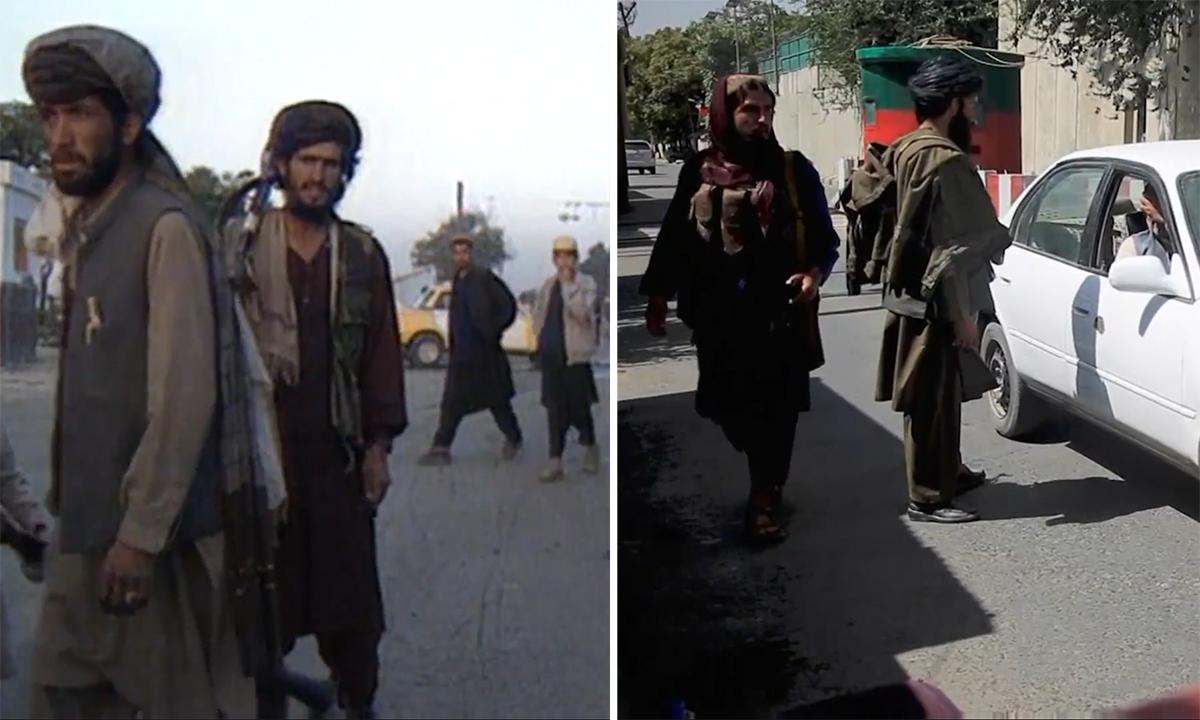 Hai lần Taliban tiến vào thủ đô Afghanistan