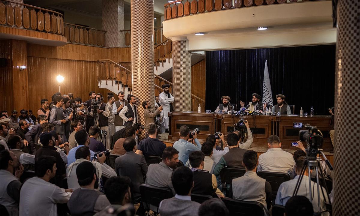 Cam kết của Taliban trong họp báo đầu tiên sau khi kiểm soát Kabul