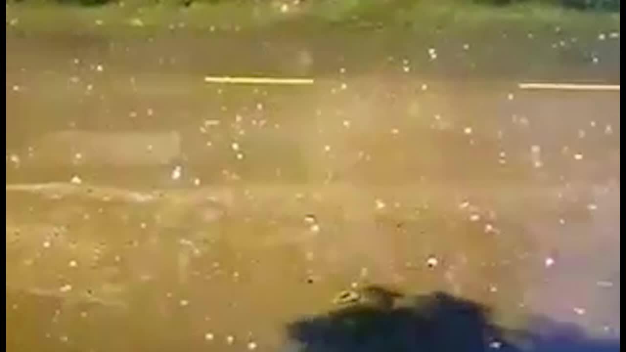 Mưa đá ở TP HCM