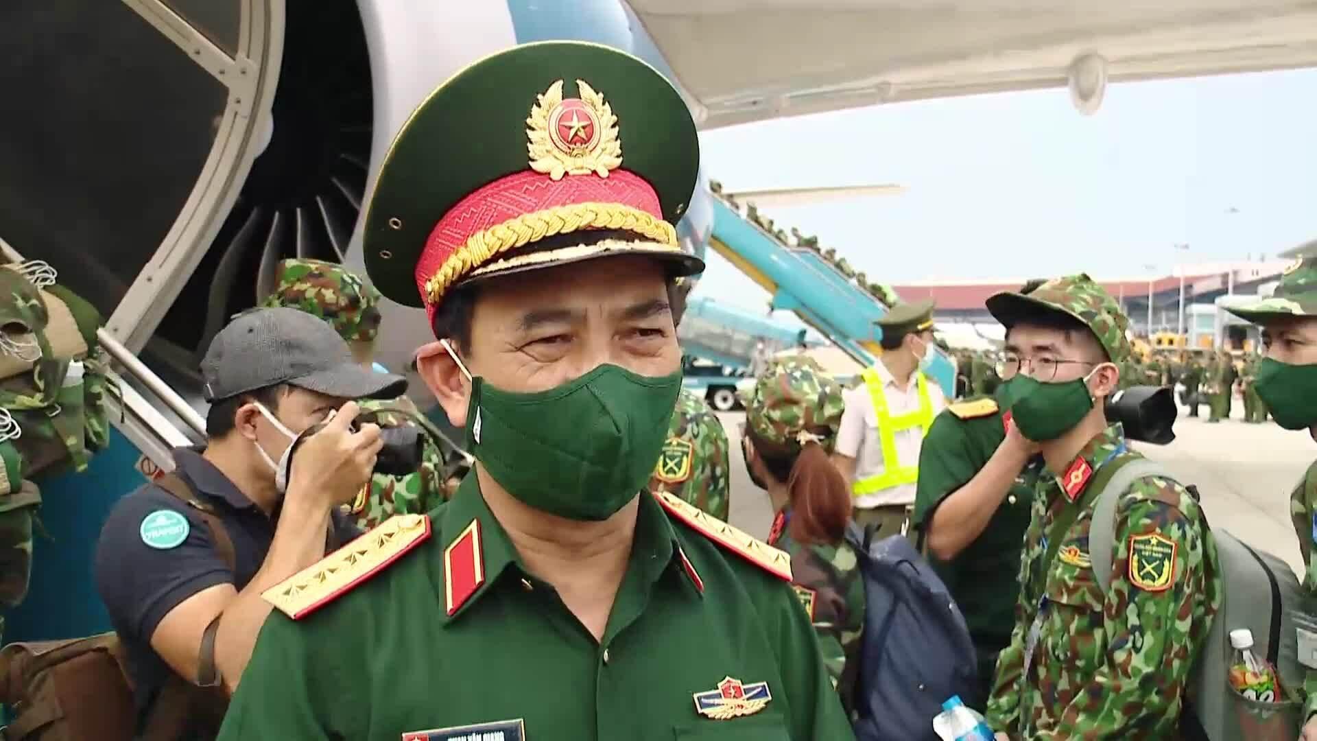 Bộ trưởng Quốc phòng Phan Văn Giang nói về hỗ trợ TP HCM chống dịch