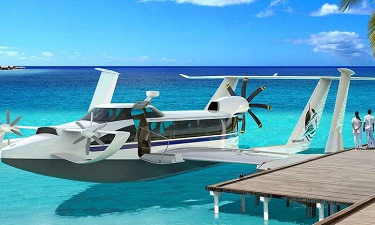 Tàu bay 200 km/h có thể chở 12 hành khách