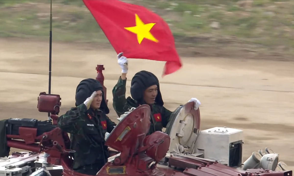 Trận thứ hai của đội tuyển xe tăng Việt Nam tại Army Games 2021