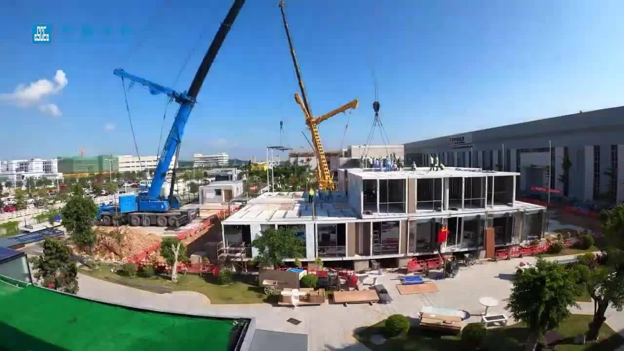 Công ty Trung Quốc xây khách sạn 7 tầng trong 12 ngày