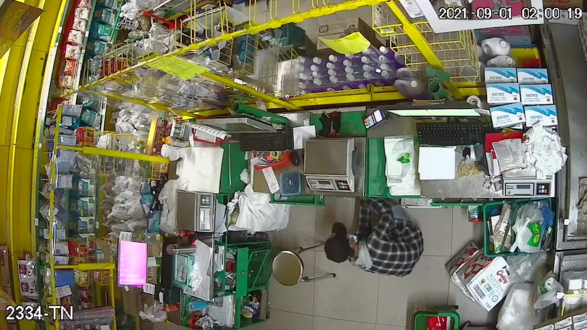 Băng trộm đột nhập cửa hàng ở Sài Gòn lúc rạng sáng