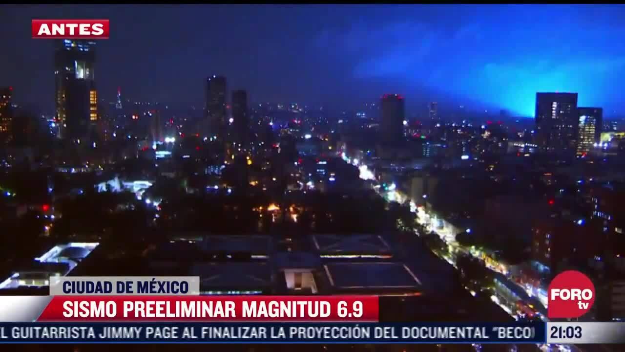 Luồng sáng xanh sau động đất khiến dân Mexico sợ tận thế