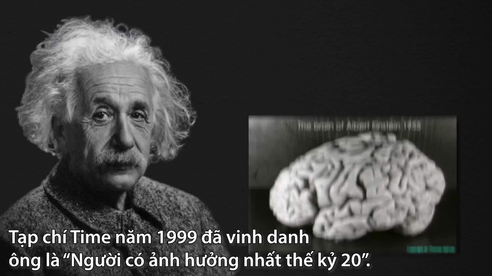 Einstein nổi tiếng nhờ 4 bài báo khoa học