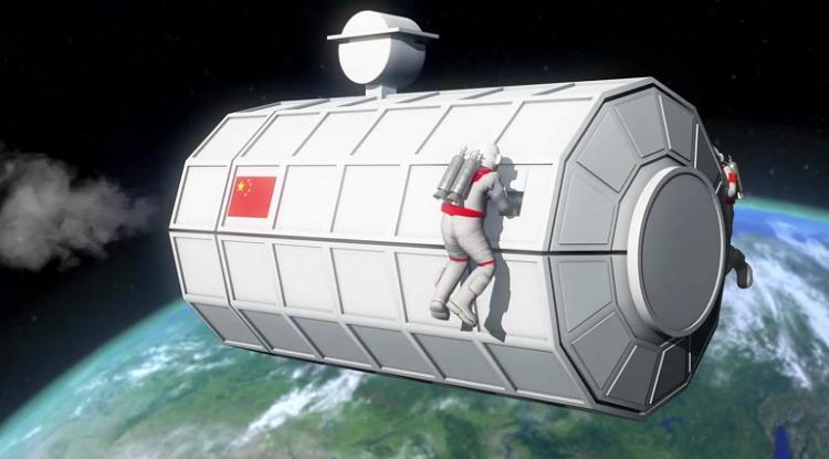 Trung Quốc dự định xây dựng tàu vũ trụ dài hàng km