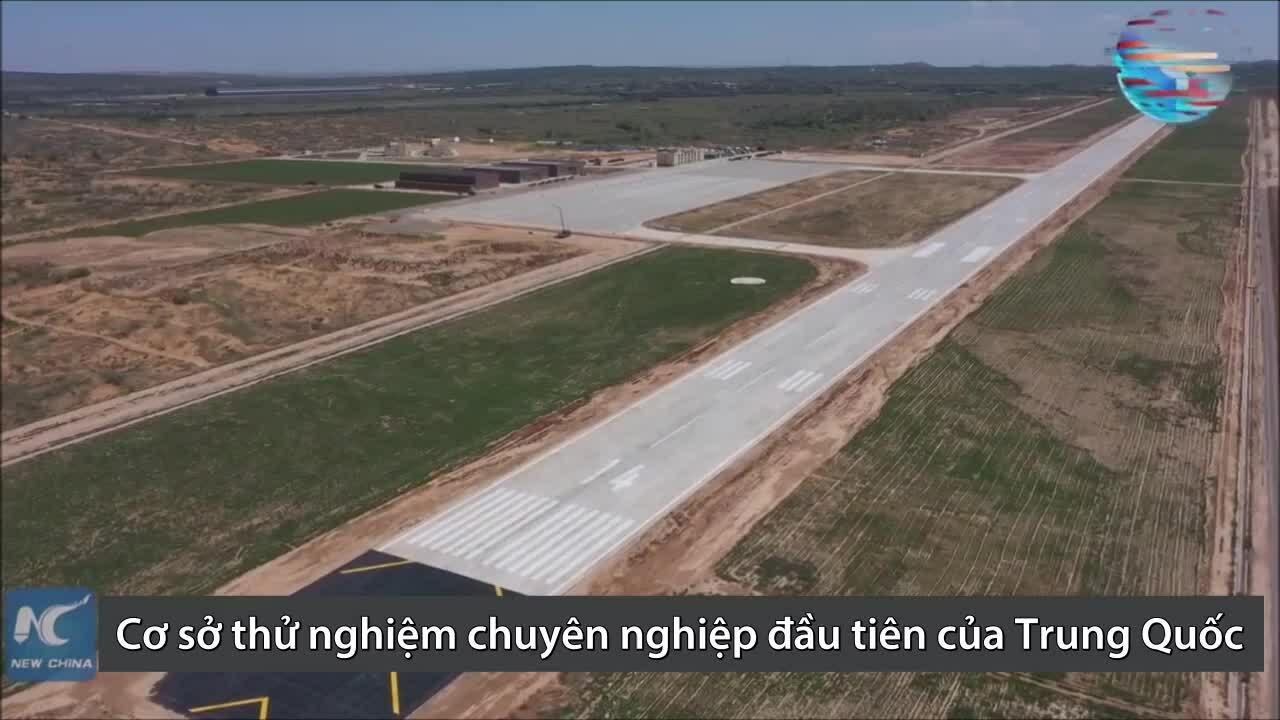Cơ sở thử nghiệm drone đầu tiên của Trung Quốc