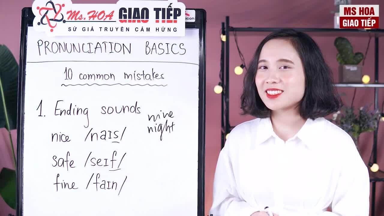 3 lỗi phát âm nhiều người Việt mắc phải