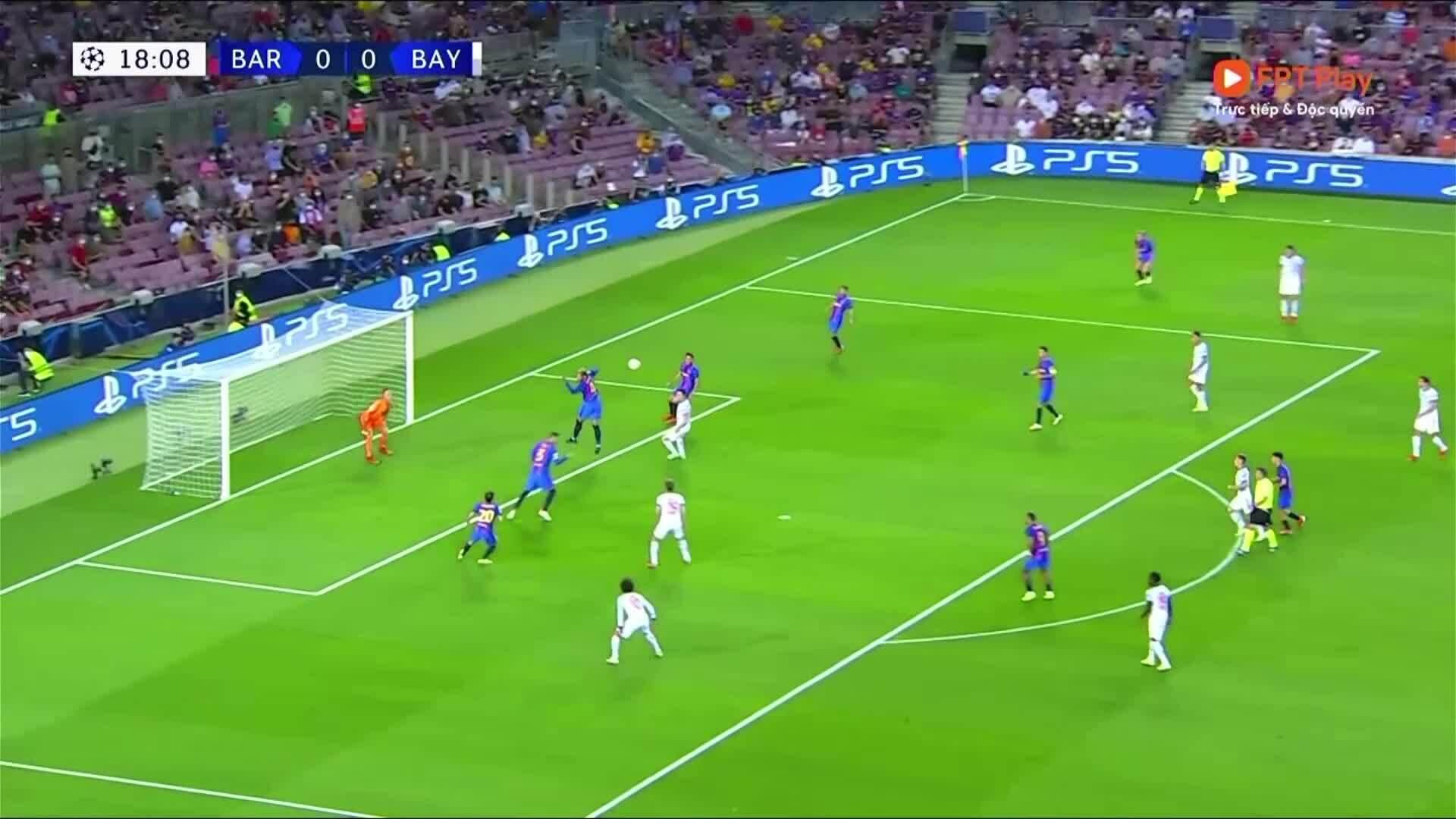 Barca 0-3 Bayern