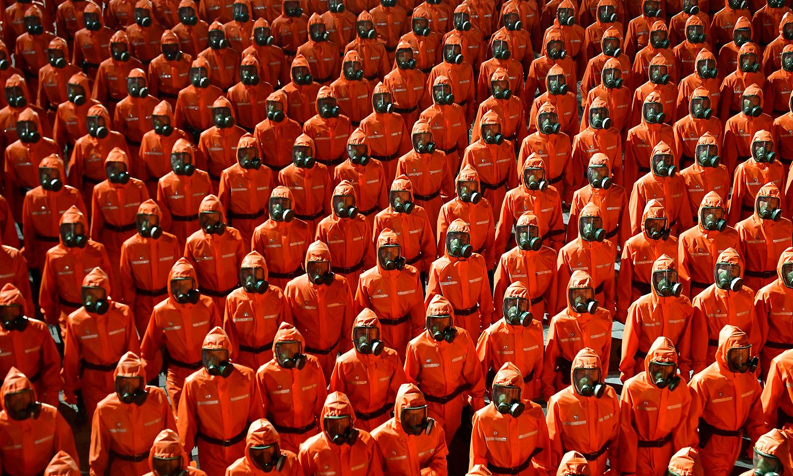 Duyệt binh kỷ niệm 73 năm quốc khánh Triều Tiên