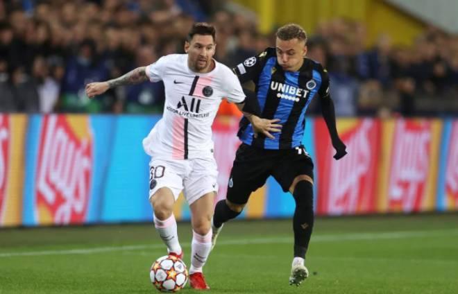 Brugge 1-1 PSG