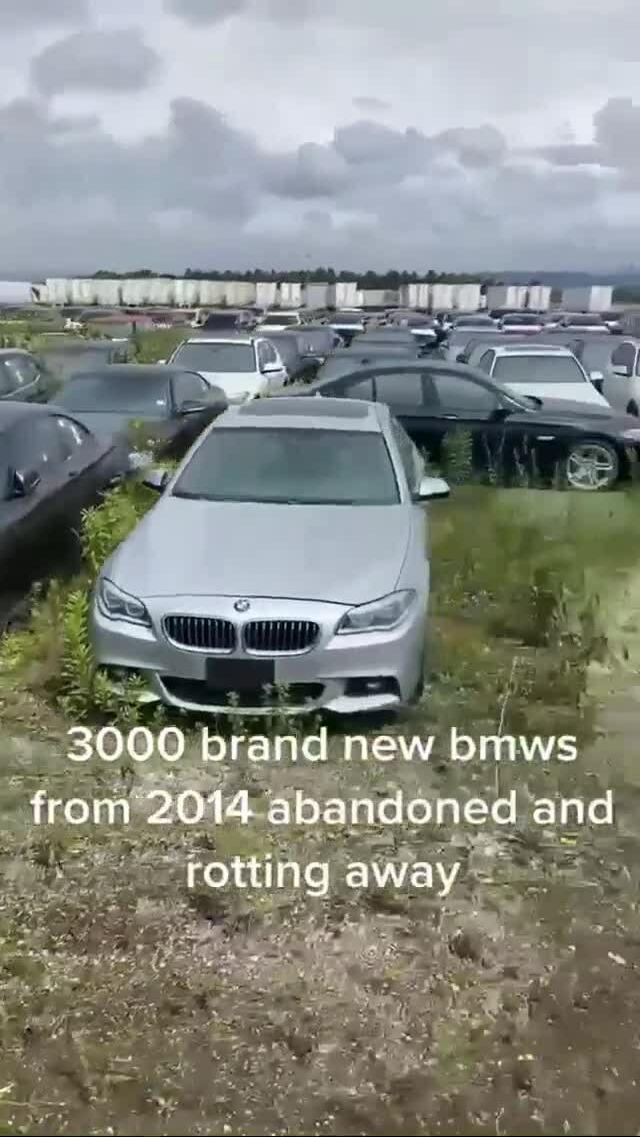 Hàng nghìn xe sang bị bỏ không suốt 7 năm