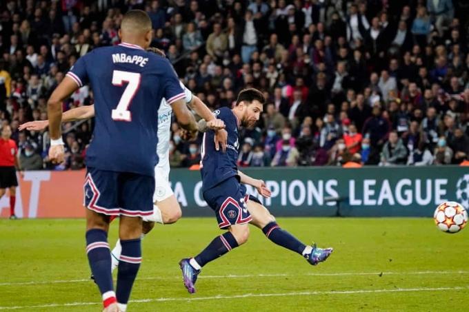 PSG 2-0 Man City
