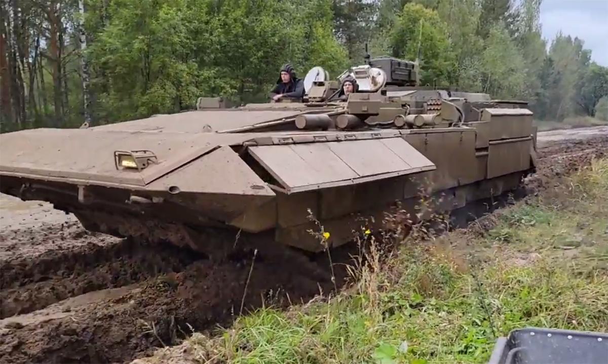 Thiết giáp chỉ huy Armata lộ diện