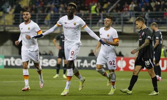 Zorya 0-3 Roma
