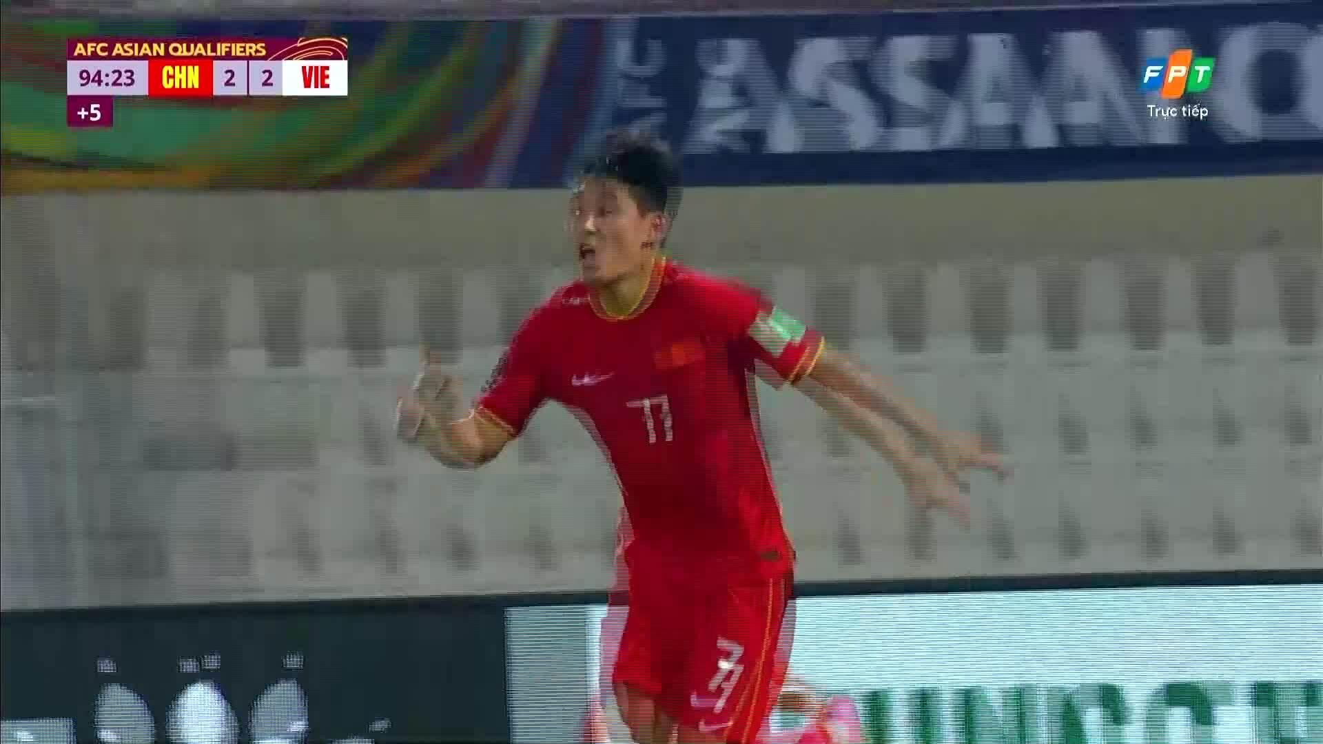 3-2 cho Trung Quốc