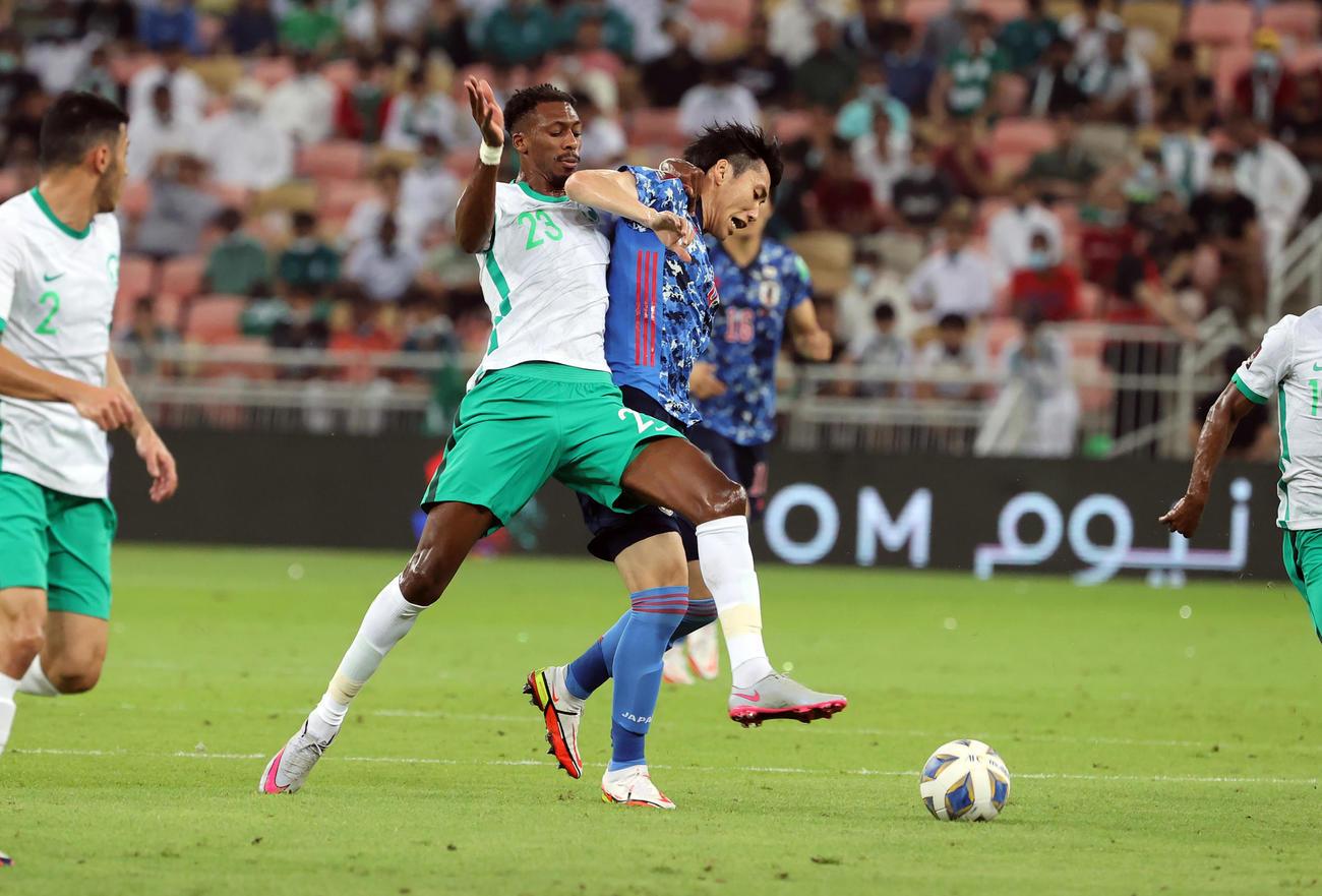 Ả Rập Xê-út 1-0 Nhật Bản