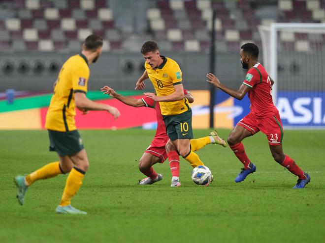 Australia 3-1 Oman