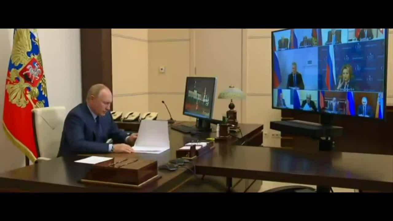 Putin bị cảm