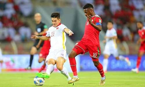Oman 3-1 Việt Nam