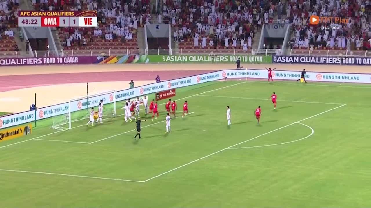 Oman nâng tỷ số lên 2-1