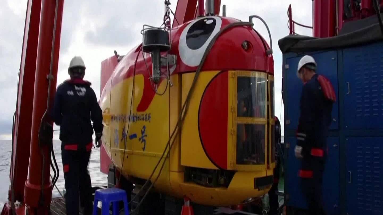 Tàu lặn biển sâu Trung Quốc liên tiếp lập kỷ lục